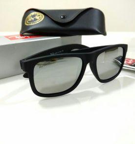 óculos de sol justin polarizado ray ban espelhado prata masculino e feminino f1857860e2