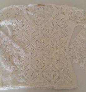 Quero Blusas De Croche - Encontre mais belezas mil no site  enjoei ... e054e63c134