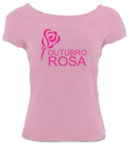 camiseta outubro rosa feminina t-shirt rosa campanha 2018 blusa tamanhos na  descrição a15e8ee1be6