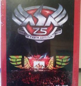 1089917ba0 dvd + cd asa de águia 15 anos a festa continua novo 49 músicas musipack axé