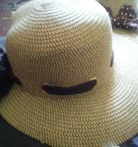 chapéu feminino mulher laço praia piscina sol verão calor novo palha  sintética 098165863ba