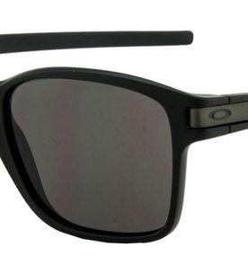 fe58217fd6559 Óculos de Sol Oakley Preto Fosco Latch Squared Masculino   Óculos ...