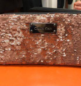 2b4d0509bed7b Carteira Feminina Calvin Klein Ck Continental Lisa Linda (importada ...