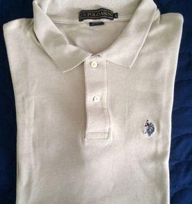 2b4ac1d25cc camisa masculina marca polo marrom claro tamanho g original pouco usada sem  avarias