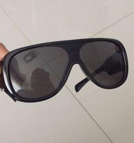 Óculos de Sol - Evoke Amplifier Black Square Gray Degrade   Óculos ... bba03311ba
