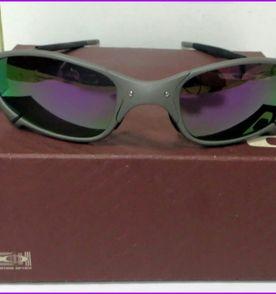 Óculos Oakley Juliet Dourado 24k   Óculos Masculino Oakley Nunca ... 9361ddd8a7