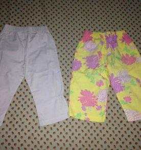 d1ea9a7387b duas calças infantil green tamanho 24 30 meses barato pouco usadas r 39