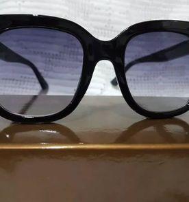 Óculos de Sol Armação Estilo Gatinho Lentes Redondas   Óculos ... c62e7d789f