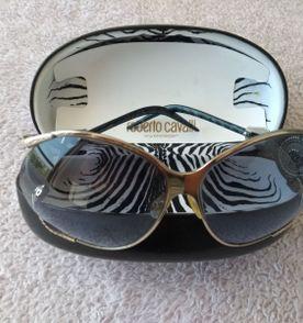 óculos de sol original - roberto cavalli - praticamente novo na caixa -  modelo maravilhoso 94066ab0e8