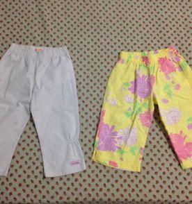 5ed6619beaf duas calças infantil green tamanho 24 30 meses barato pouco usadas r 42