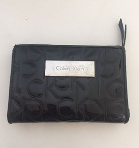 44b8059b24946 Carteira Feminina Calvin Klein Ck Continental Cinza Importada (eua ...