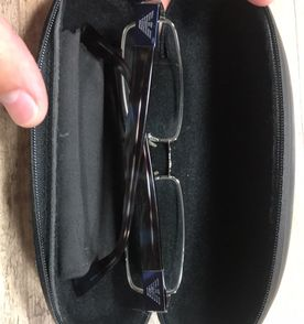 9f262a67b12d9 Armani Óculos Masculino 2019 Novo ou Usado   enjoei
