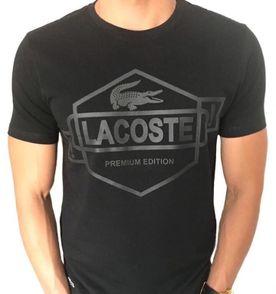 d114c91292003 Camisa Lacoste Jacare Preto - Encontre mais belezas mil no site ...