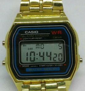 82ff7c0fd47 Casio Dourado - Encontre mais belezas mil no site  enjoei.com.br ...