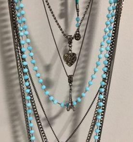 a576b2bf9879a Colar Onix - Encontre mais belezas mil no site  enjoei.com.br   enjoei