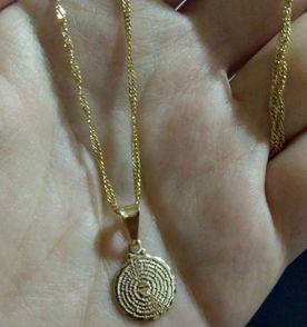 Correntinha De Ouro - Encontre mais belezas mil no site  enjoei.com ... b74ba63a86