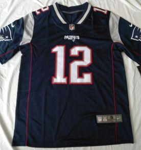 Camisa Futebol Americano Nfl Tom Brady New England Patriots  3c4d610ee80e2