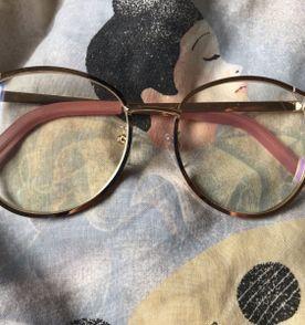 Oculos Sem Grau Rosa - Encontre mais belezas mil no site  enjoei.com ... 7b954efcfb