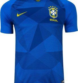camisa azul seleção brasileira copa 2018 camiseta brasil d0f28dc3206d2