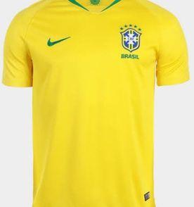 Camisa Oficial Brasil Selecao Brasileira Nike - Encontre mais ... be0be8b034aea
