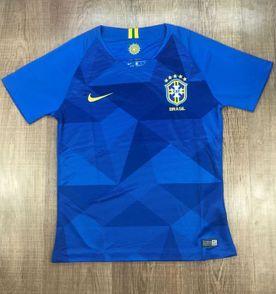 Uniforme Conjunto Completo Seleção Brasileira Nike 2017 2018  3133cbf9045ac