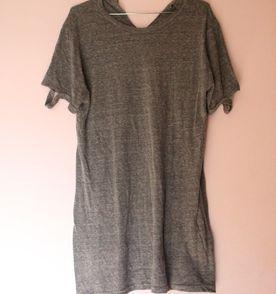 Vestido Blusao Cinza - Encontre mais belezas mil no site  enjoei.com ... 915ad3e528