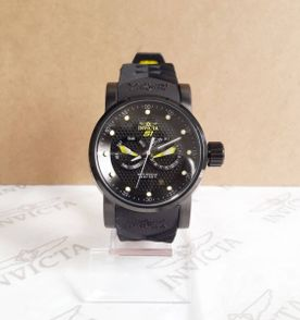 6c470d96063 relogio invicta collection s1 ninja original preto com amarelo completo.