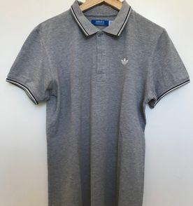 Camisa Polo Adidas Ess Original M  6f922a12e2859