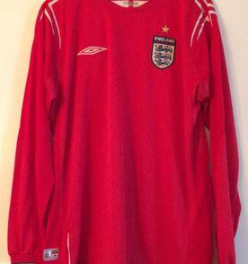 camisa oficial umbro seleção inglesa 3bca007a065e4