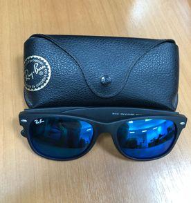 Oculos Rayban Espelhado Lente Azul   Óculos Feminino Rayban Nunca ... e454f7721c