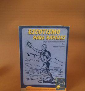 escotismo para rapazes - edição comemorativa ao centenário + selo + 7  distintivos 2ab0be16f61eb