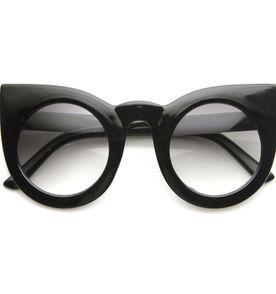 óculos gatinho oversize redondo 1456d5ac1f