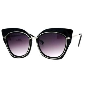 Óculos De Sol De Gatinho - Fashion - Hipster - Oversized c7b8f9f9d8