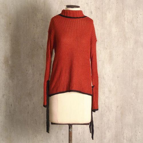 casaco terracota trico 45029346
