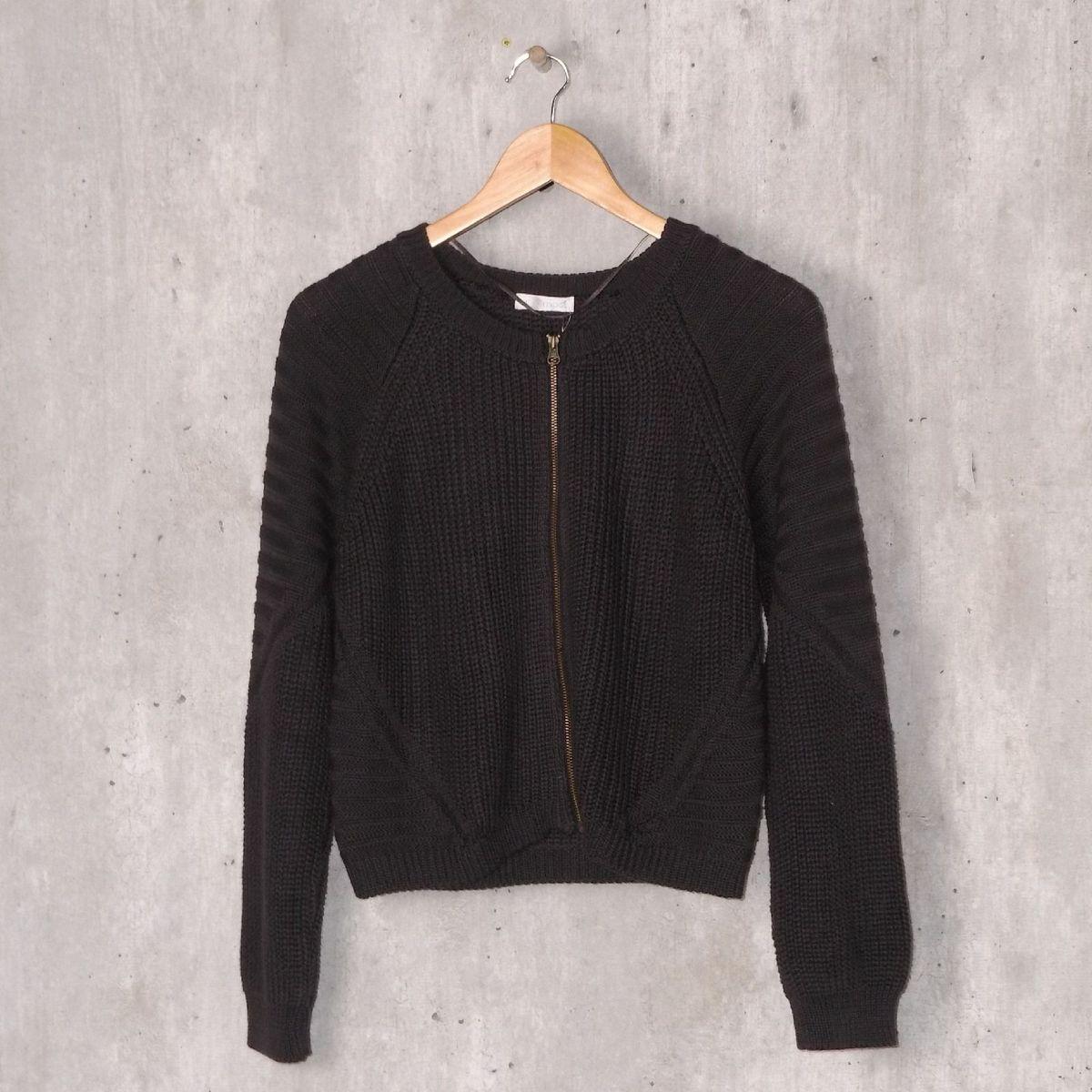 pullover lã promod - casaquinhos promod