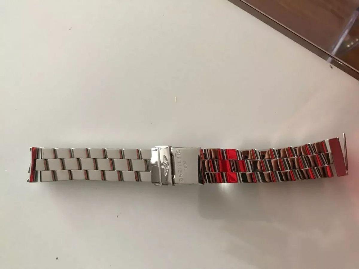 faa816e630d pulseira breitling em aço - relógios breitling.  Czm6ly9wag90b3muzw5qb2vplmnvbs5ici9wcm9kdwn0cy81nzuxmza3lzrjymjhywy1mdfhmjvhzthhotm4mtqzyta5ody2owq2lmpwzw