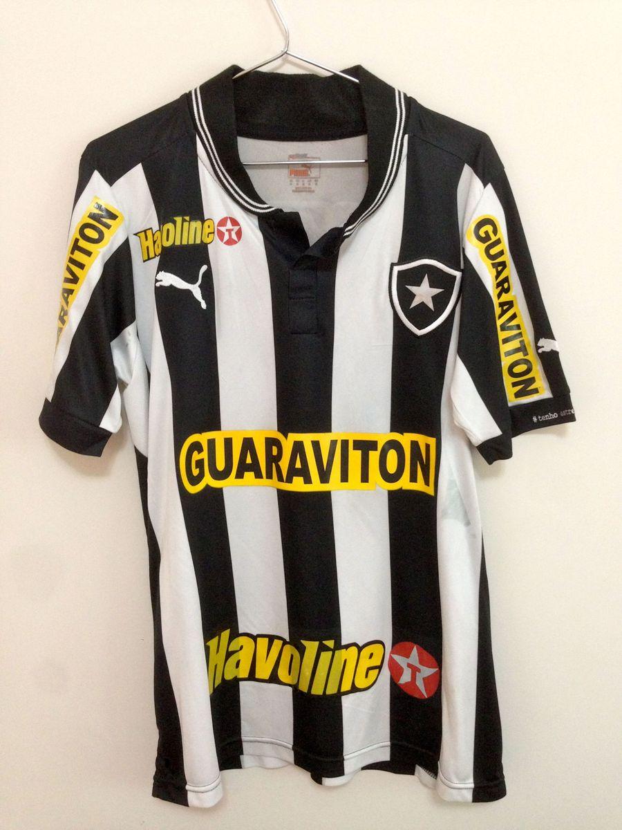46654ea956e59 Puma Camisa Botafogo de Jogo - Campeão Carioca 2013   Camiseta ...