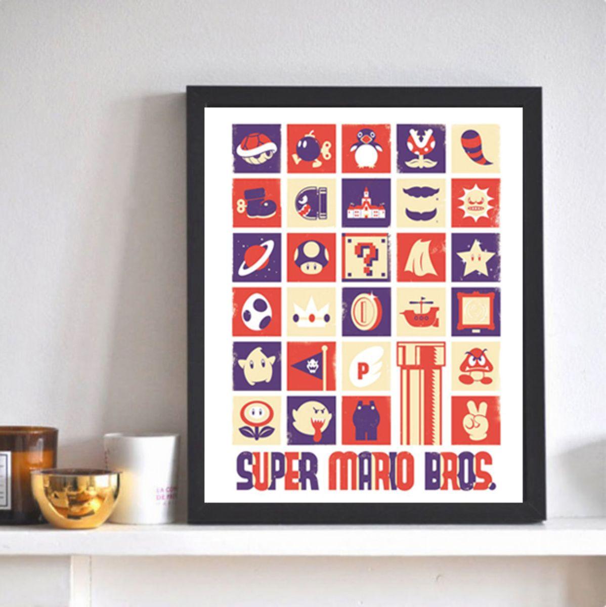 quadro poster decorativo - decoração sem marca