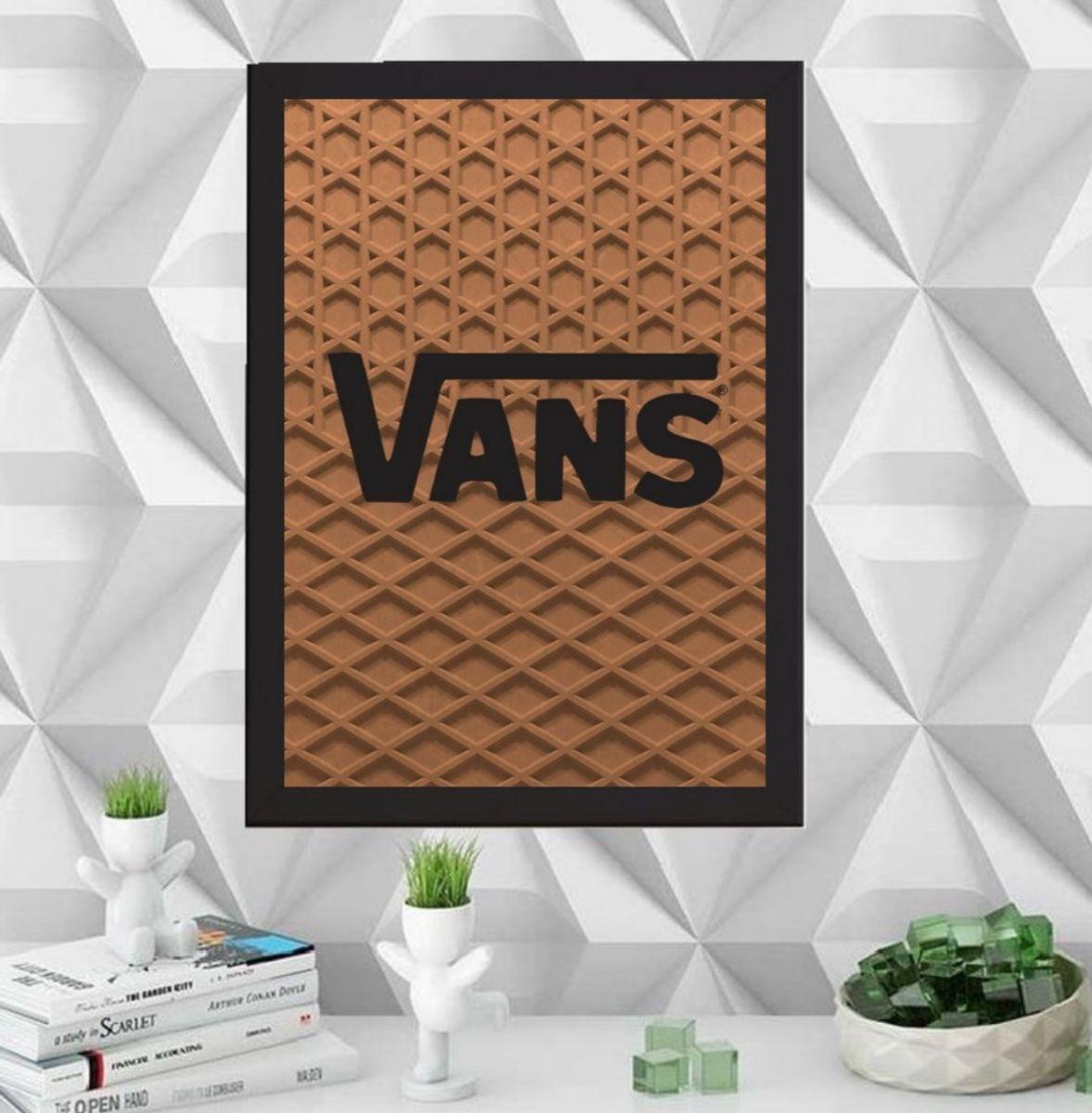 Quadro Vans A4 | Item de Decoração Art On Board Nunca Usado ...