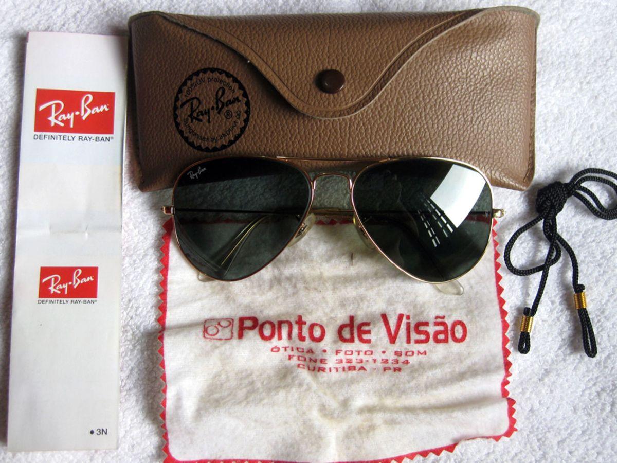 Raridade - Original Ray Ban Bl - Novo   Óculos Masculino Ray Ban ... f8e766a97c