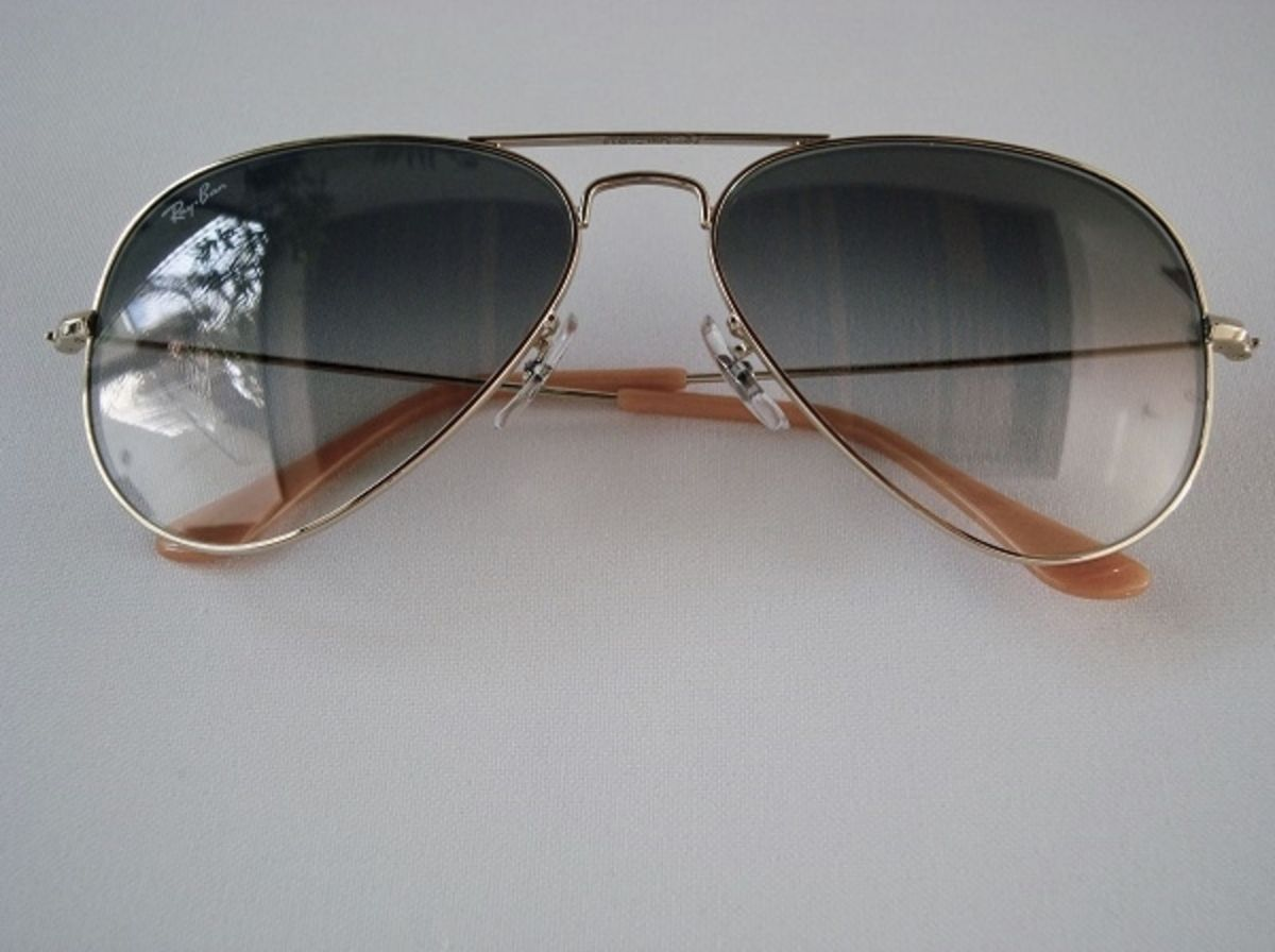 Ray Ban Aviator Large Metal Rb3025 001 3f   Óculos Feminino Ray Ban Nunca  Usado 1298885   enjoei 97d1ac7b79