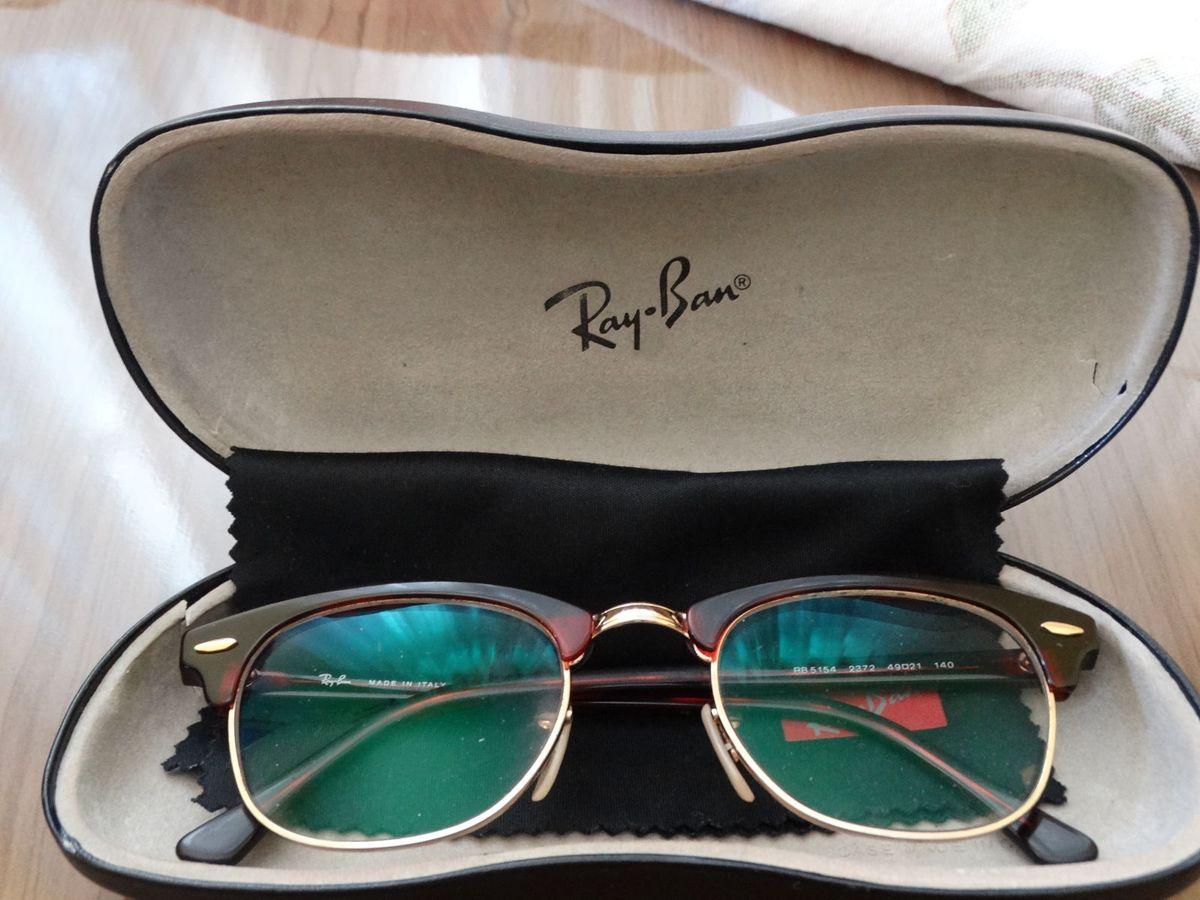 ray ban clubmaster grau - óculos rayban