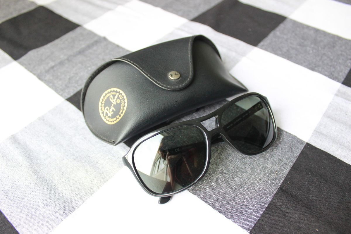 af58d3479650a Ray Ban In Italy   Óculos Masculino Ray Ban Usado 24325809   enjoei
