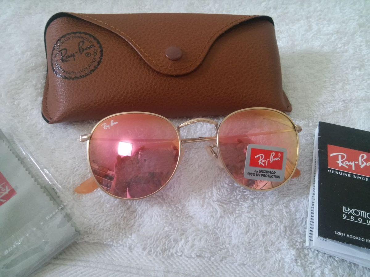 bebcddb951ea7 ray ban round redondo 3447 rosa - óculos ray-ban.  Czm6ly9wag90b3muzw5qb2vplmnvbs5ici9wcm9kdwn0cy8xmdq5mzcvn2u5mjuzzmi1y2yzngm4zjljmjdhnmjim2exmdi5njuuanbn  ...