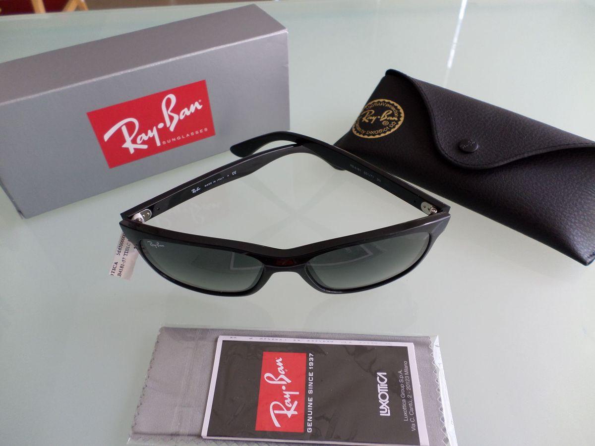 Rayban 4181 Preto   Óculos Masculino Rayban Nunca Usado 1773014   enjoei 47b8524890