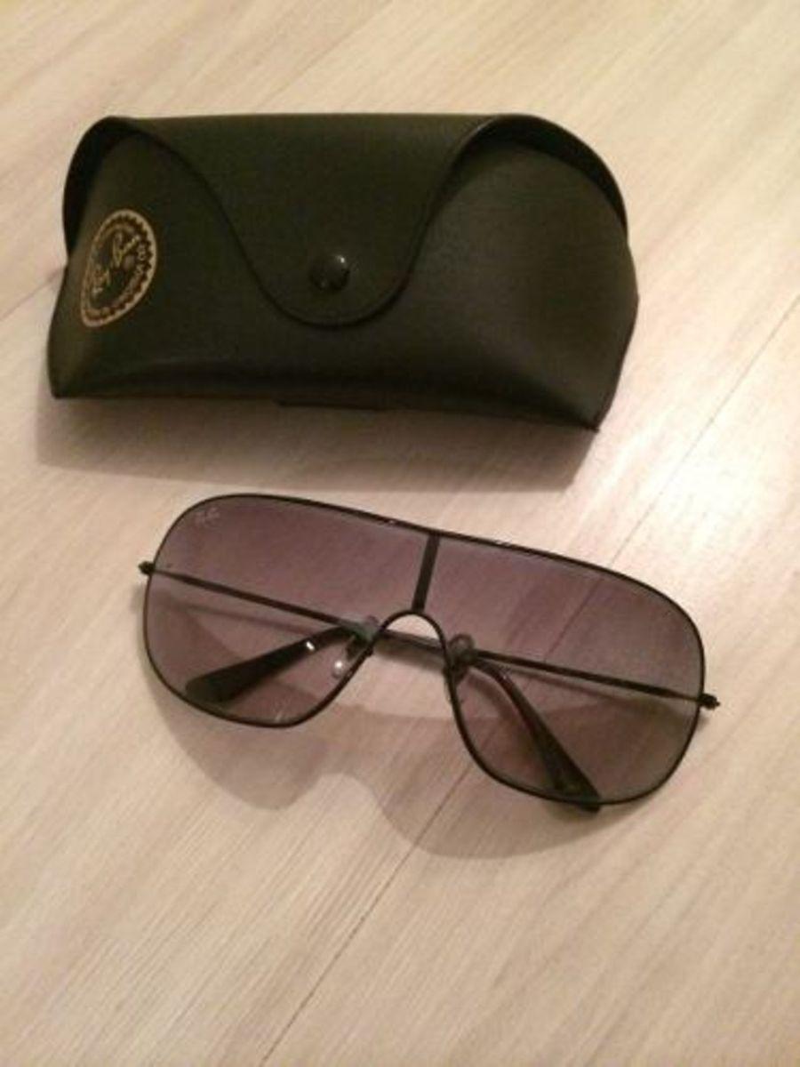 928867dda8a rayban máscara rb 3311 - semi-novo perfeito - óculos ray ban