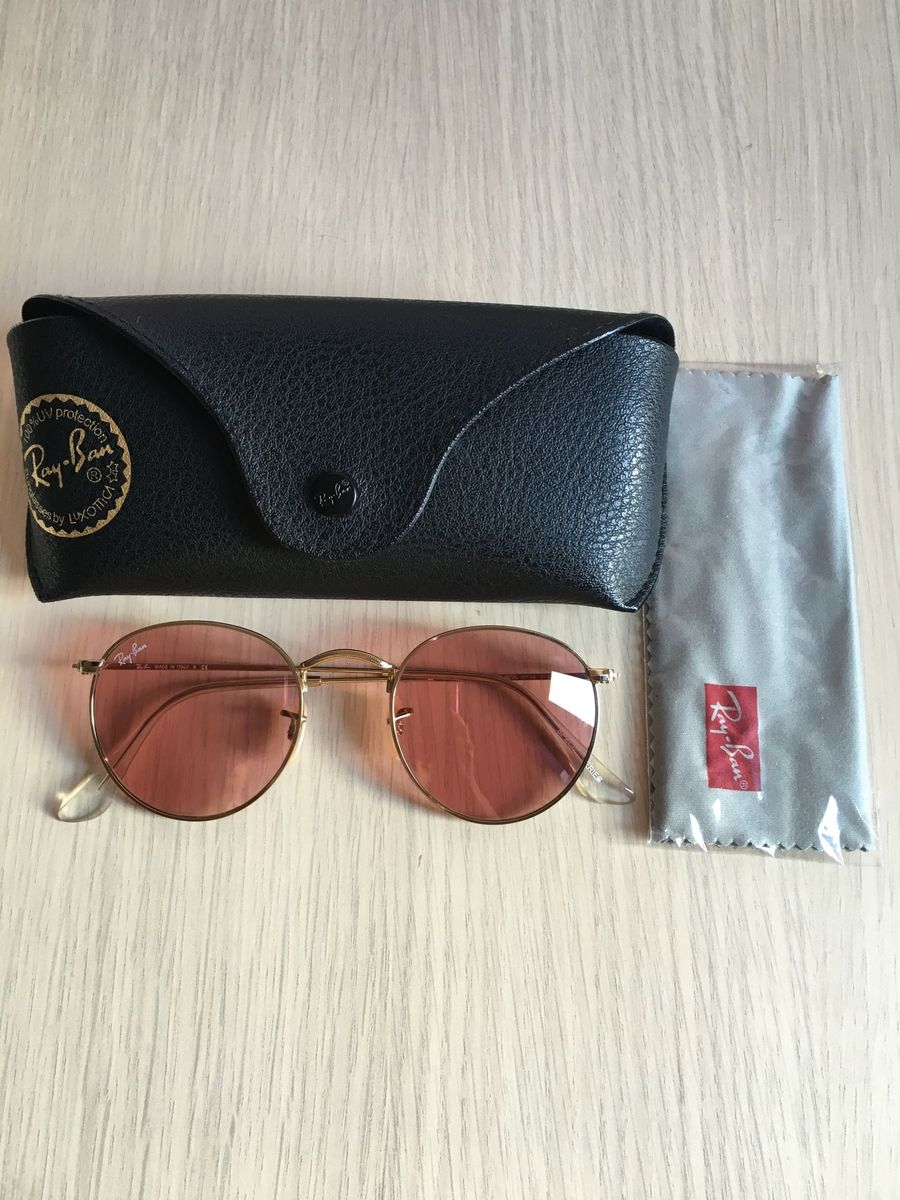 rayban round rosa rosinha - óculos ray-ban.  Czm6ly9wag90b3muzw5qb2vplmnvbs5ici9wcm9kdwn0cy81mtg0otk1l2u3yzgznjbintuwzdezogu5nmywzgfmztvlnzjiymfmlmpwzw  ... 2e5c622204