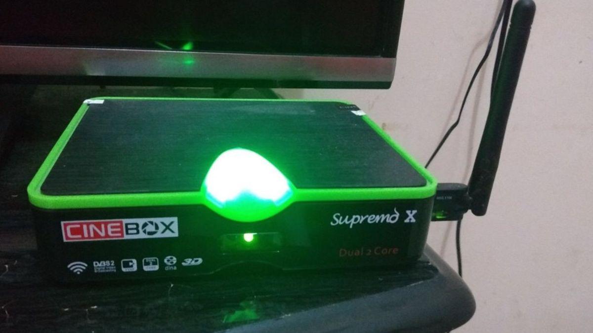 Cinebox Supremo X Dual Core Atualização - 03/05/2021