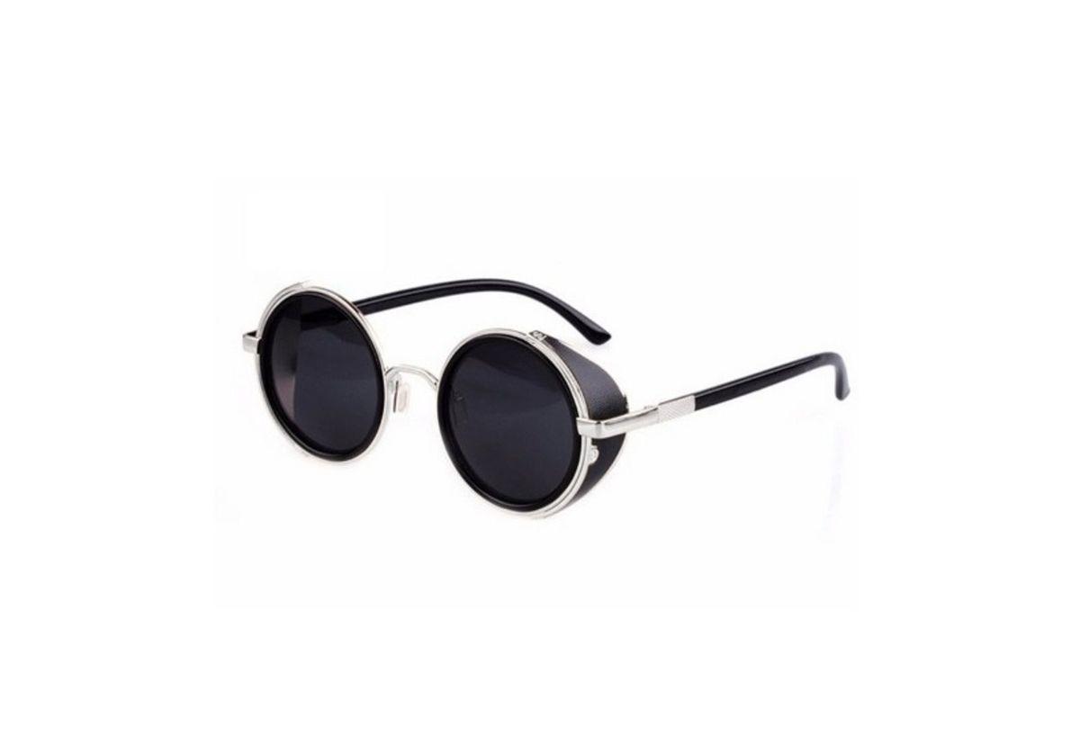 óculos escuros lentes redondas blinder steampunk com proteção uv - óculos  otto store b8206232e4