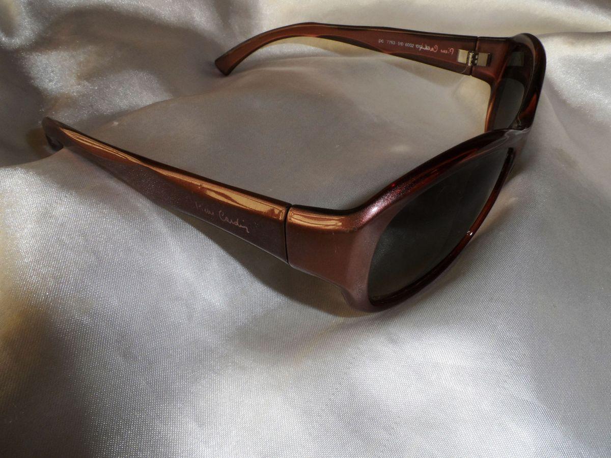 Refinado,lindo Óculos Sol Vintage Feminino Pierre Cardin,anos 90   Óculos  Feminino Pierre Cardin Usado 29536800   enjoei 6af4d08880